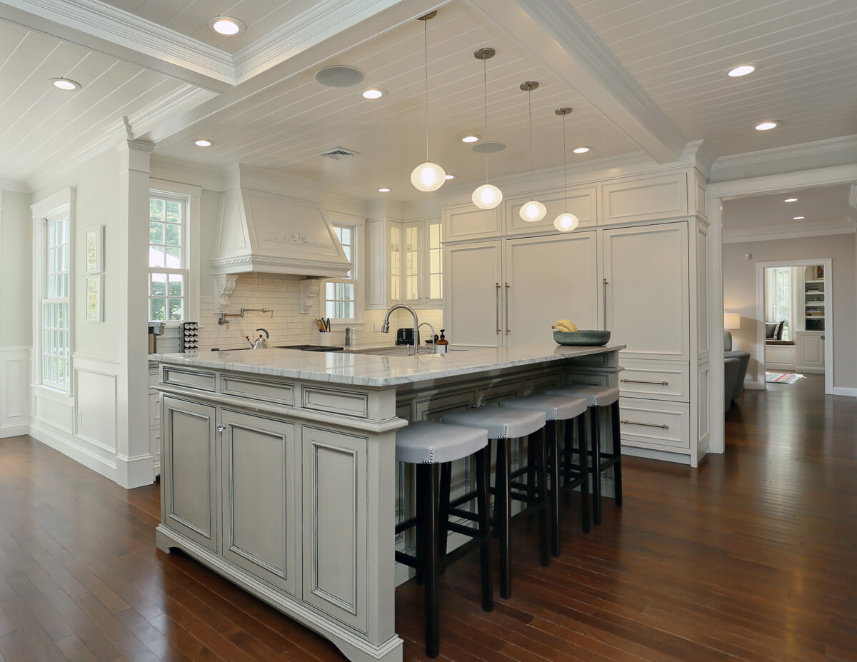 Stunning Kitchen Remodel with a Large Multi-Purpose Island