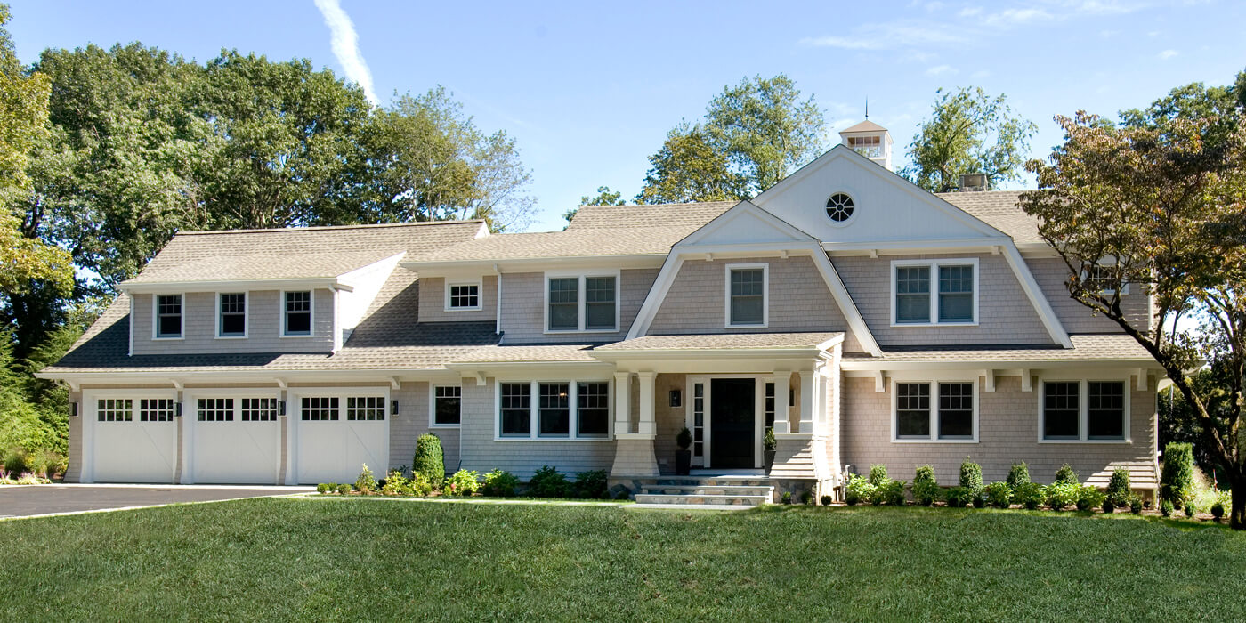 Whole Home Remodel with enhanced exterior in Milton, MA