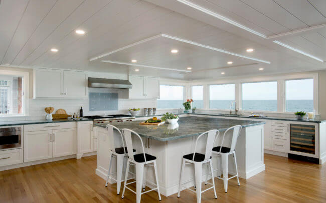 Coastal Home Transformation Interior