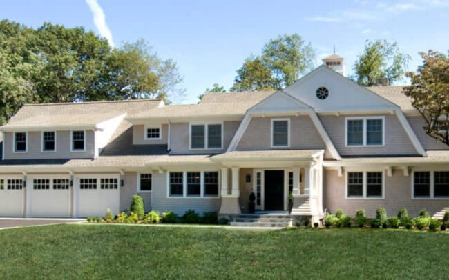 Milton Shingle Style Renovation Exterior